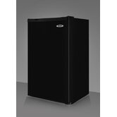 "34.25"" x 19.36"" Refrigerator Freezer in Black"