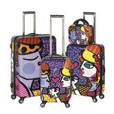 4 Piece Spinner Luggage Set
