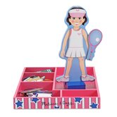 Magnetic Pretend Play Julia Doll