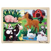On The Farm Wooden Jigsaw Puzzle