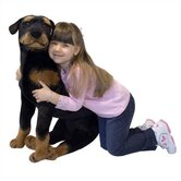 Large Rottweiler Plush Stuffed Animal