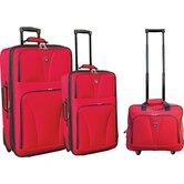 Bowman 3 Piece Expandable Luggage Set