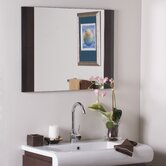 Frameless Chase Wall Mirror