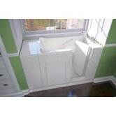 Acrylic 48&quot; x 28&quot; Bath Tub with Dual Massage
