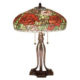Tiffany Peony Table Lamp