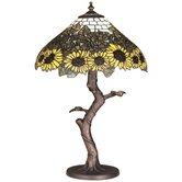 Tiffany Wild Sunflower Table Lamp