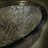 17&quot; Glass Vessel Sink