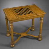 Chess Table in Light Wood