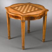 Reversible Top Game Table in Medium Brown