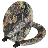 Magnolia Camouflage Mossy Oak Break Up Pattern Toilet Seat