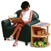 Vinyl Funky Overstuffed Child Chair