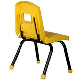 "Creative Mix and Match 10"" Plastic Classroom Stacking Chair"