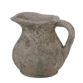 Ceramic Pitcher in Rustic Stone