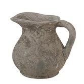 Ceramic Pitcher in Rustic Stone