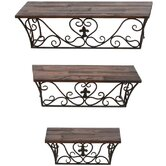Wall Shelves (Set of 3)