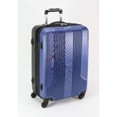 "Izod Voyager 2.0 24"" 4 Wheeled Expandable Upright Suitcase"