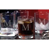 Etched Drinking Glass (Set of 4)