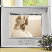 Elegant Horizontal Picture Frame