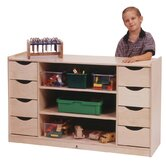 Eight Drawer Storage Unit