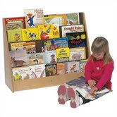 Five Shelf Book Display Unit