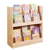 Double Height Book Display Unit