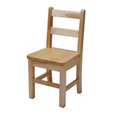 16&quot; Large Maple Classroom Glides Chair