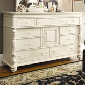 Steel Magnolia 9 Drawer Dresser