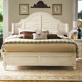 Steel Magnolia Panel Bed