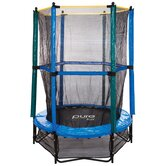 "55"" Trampoline and Enclosure Kid's Set"