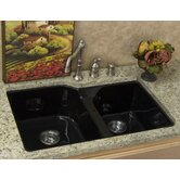 Optimum Narragansett Double Bowl Undermount Kitchen Sink