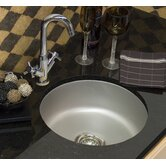 Optimum Omega Round Undermount Bar Prep Sink