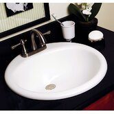 Advantage Anderson Self Rimming Round Bathroom Sink