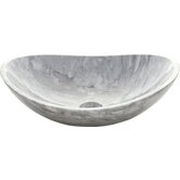 Oval Marble Vessel Sink