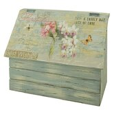 Flower Bouquet Lidded Storage Box