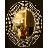 Diamante &quot;Glamour and Glitz&quot; Mirror