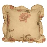 Large Rose Print Cushion