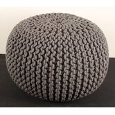 Big Knit Pouffe