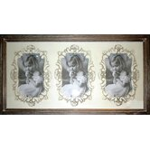 Chateau Triple Photo Frame