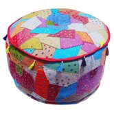 Patchwork Pouffe
