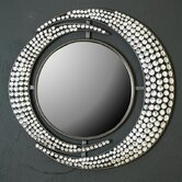 Diamante Double Crescent Mirror