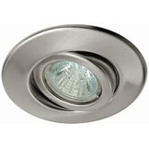 Quality Line One Swiveling Downlight in Brushed Iron