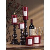 Merlot Wine Scented Candles