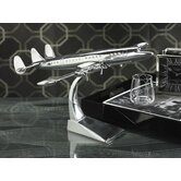 Aluminum Classic Constellation Prop Airplane Decorative Accent
