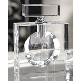 Modern Morocco Glass Rectangular Perfume Bottle