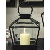 Diamond Reef Lantern with Beveled Glass