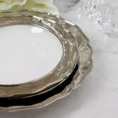 Chippendale Round Border Serving Platter