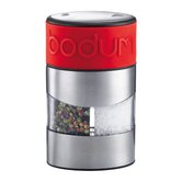 Twin Salt and Pepper Grinder in Red
