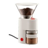 Bistro Electric Burr Grinder in Off-White