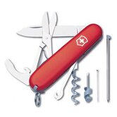 Compact Multi-Tool Pocket Knife in Red