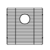 15.5&quot; x 16&quot; Electropolished Stainless Steel Grid for Kitchen Sink Bowl